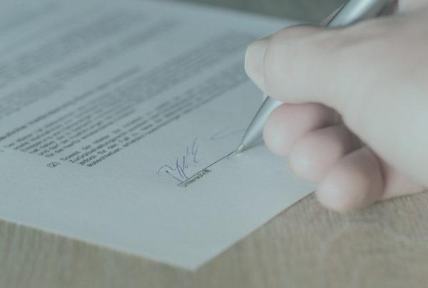 firmar hipoteca