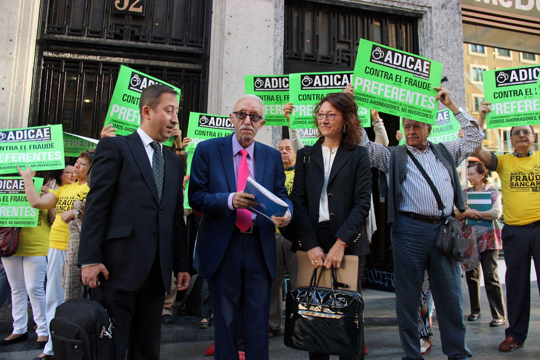ADICAE solicita la devolución de los ahorros para los afectados en el juicio de las subordinadas de Caja Duero