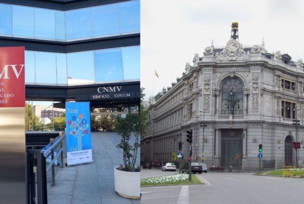 Banco de España y CNMV